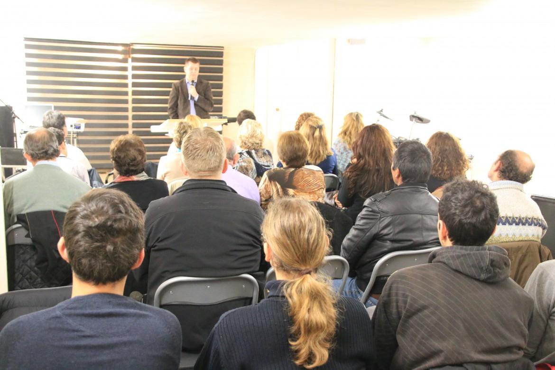 Jan-Tore taler på møte i Granada