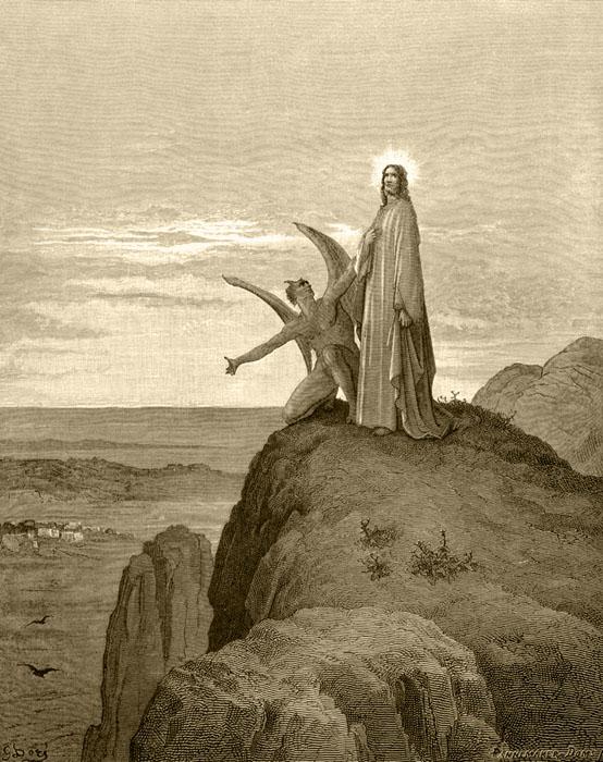 Djevelen friste Jesus