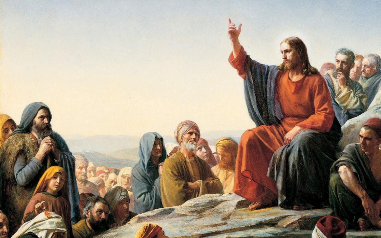 Jesus taler til folket