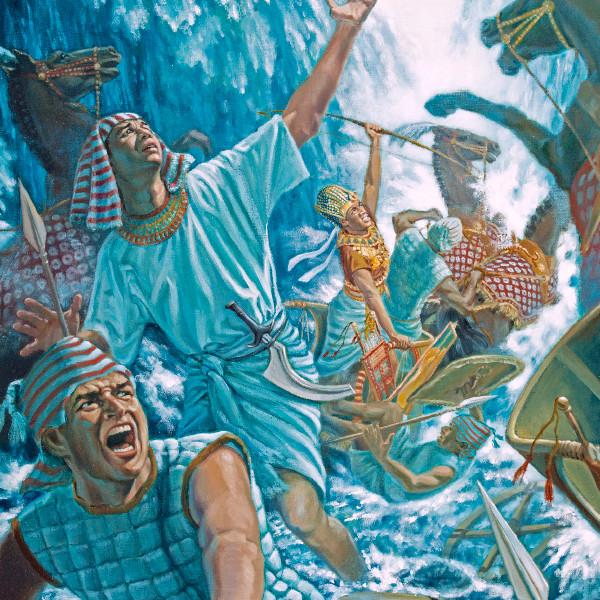 Faraos hær i Rødehavet