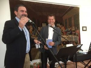 Ordfører i Alfaz del Pi, Vincent Cortez og Leder utland, Jan Tore Olsen